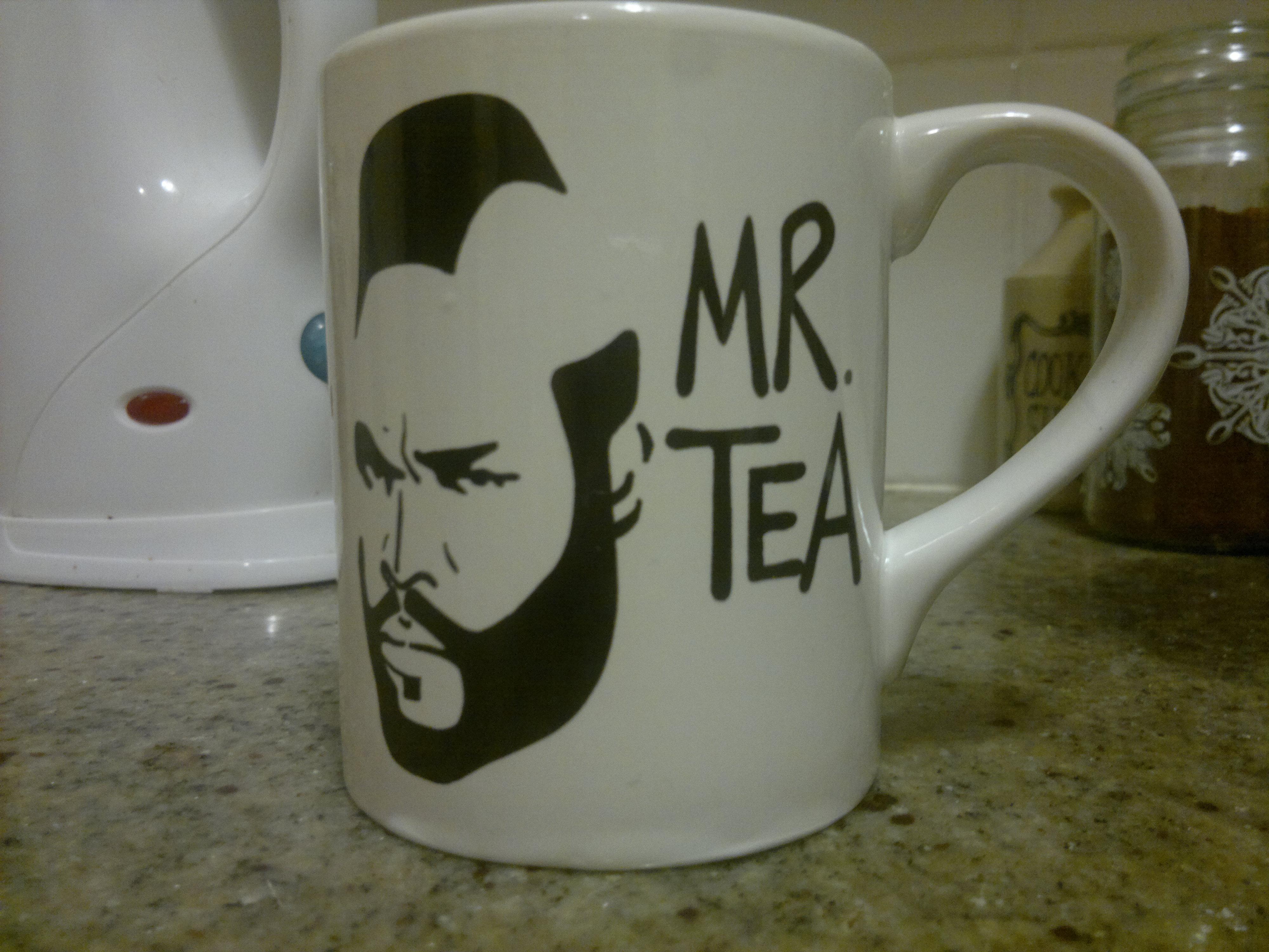 Gelas teh yg asyik...
