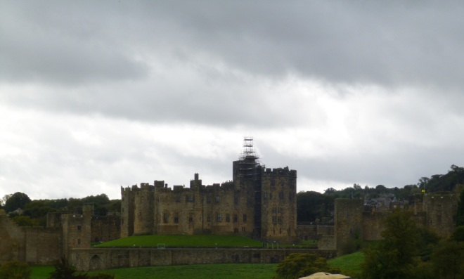 3 - Alnwick Castle from afar