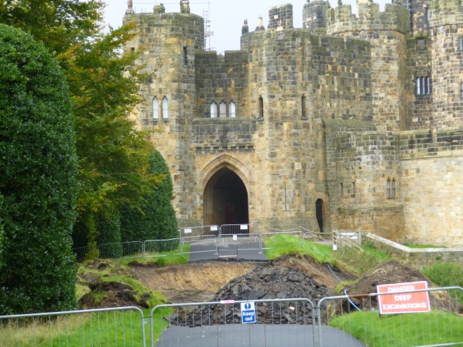 4 - Front of Alnwick Castle