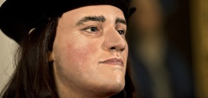 A facial reconstruction of Richard III using artist's impressions and the recently discover remains. Credited to Rex Features/AP Images, found on www.smithsonianmag.com