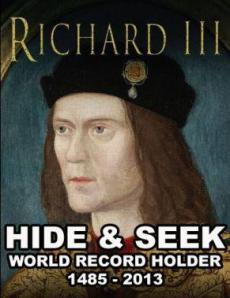 Richard III Hide & Seek