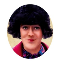 The profile picture for Mrs Stephen Fry's Twitter account, worth checking out here!