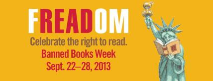 Taken from the Banned Books Week website, at bannedbooksweek.org