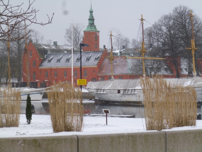 Halmstad Castle. It's small but hey, a castle's a castle.