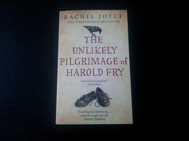 The Unlikely Pilgrimage of Harold Fry, by Rachel Joyce. Don't know much about this one, but the title made me curious. Every now and then I make a reckless purchase based on something like the cover or the title. Fingers crossed.