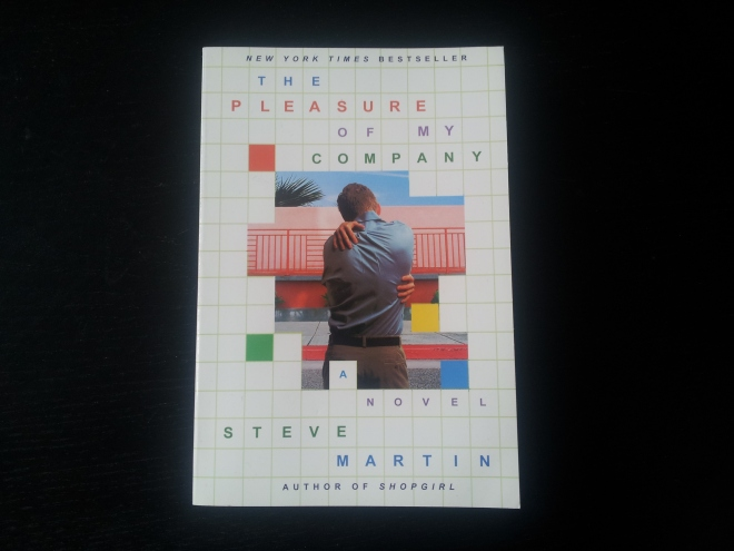 The Pleasure Of My Company by Steve Martin. I was swept away by a more recent novel by Steve Martin recently, An Object of Beauty, and have decided to backtrack to his first two works of fiction. This one is about a modern-day neurotic, and as I expected it is incredibly intelligent, witty and insightful. Steve Martin, I have to admit, is a very impressive writer.