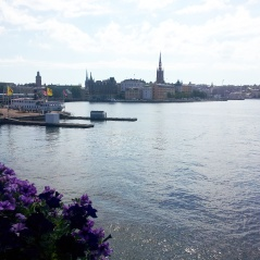 01 - Stockholm across water