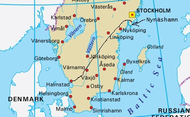 Sweden Road Trip 2 From West To East At Around Midnight Wanton